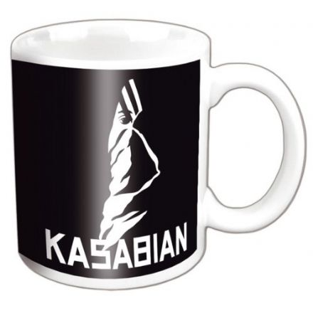 Kasabian Ultraface Black Mug